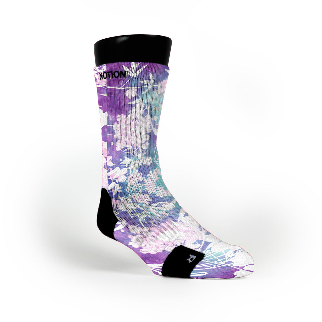 Plum Garden Custom Notion Socks
