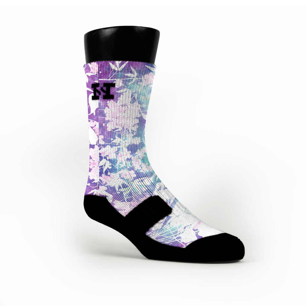 Plum Garden Custom HoopSwagg Socks