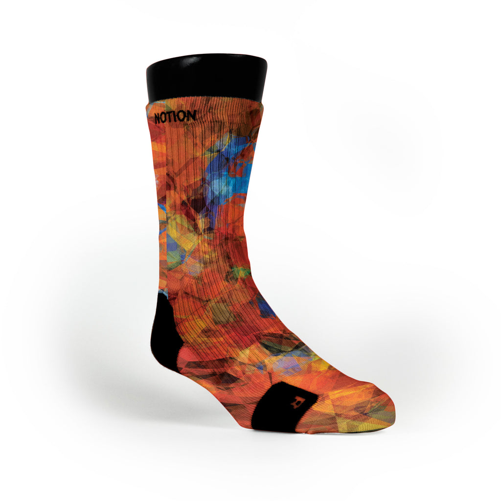 Polygon Picnic Custom Notion Socks