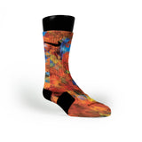 Polygon Picnic Custom Nike Elite Socks