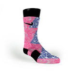Pretty Pearls Custom Nike Elite Socks
