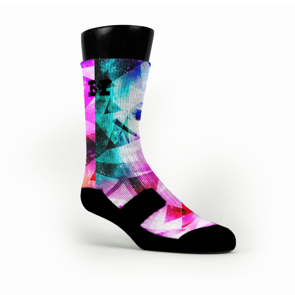 Prism Diamonds Custom HoopSwagg Socks