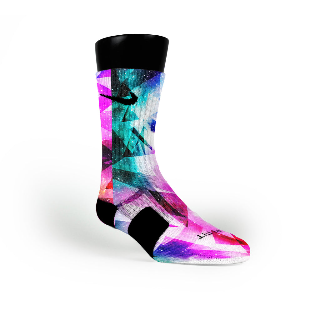 Prism Diamonds Custom Nike Elite Socks