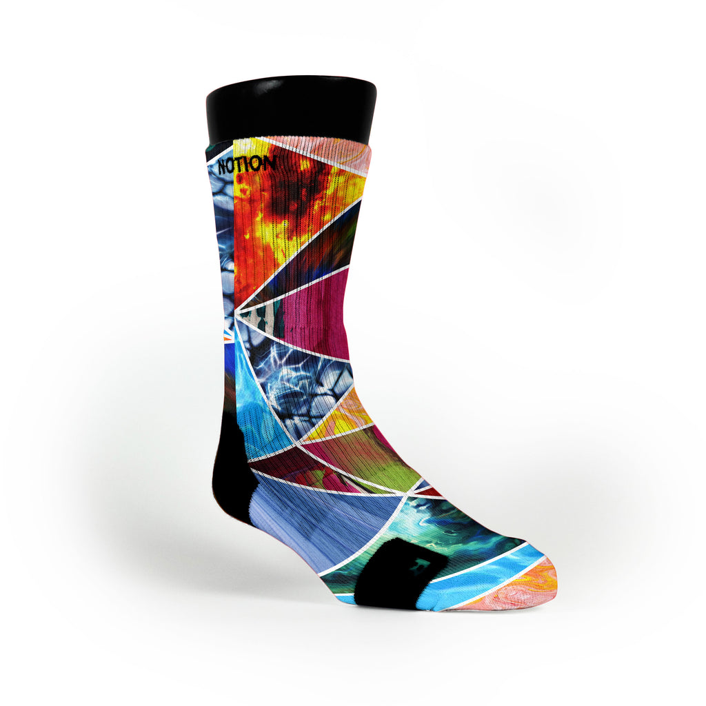 Prism Smash Custom Notion Socks