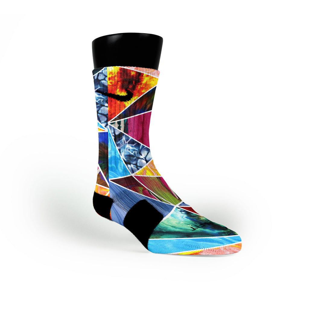 Prism Smash Custom Nike Elite Socks