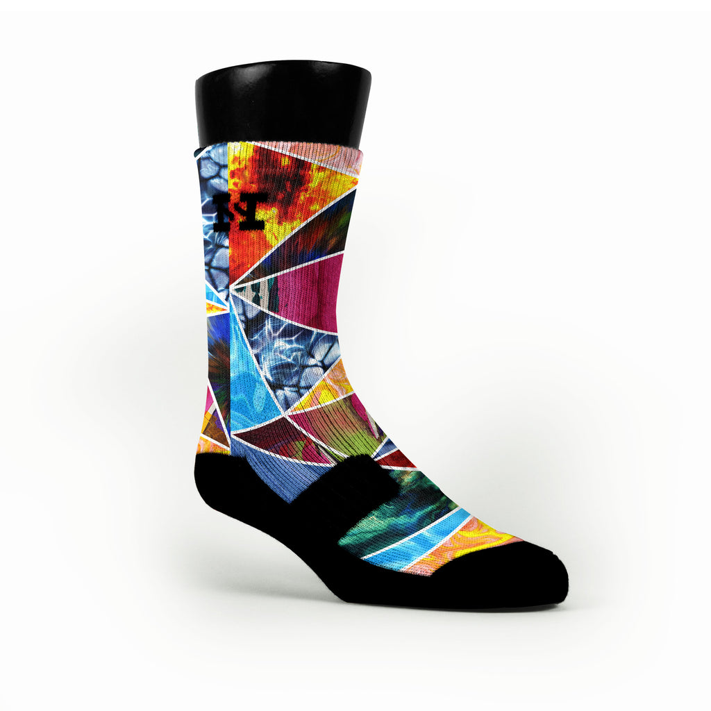 Prism Smash Custom HoopSwagg Socks