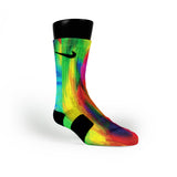 Psycho Rainbow Custom Nike Elite Socks