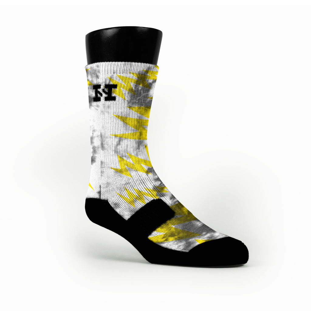 Radioactive Custom HoopSwagg Socks