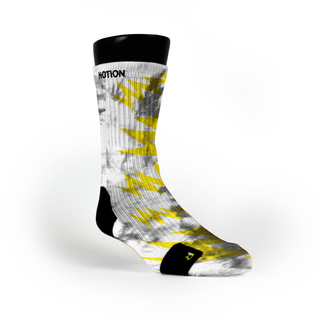 Radioactive Custom Notion Socks