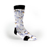 Rainbow Farting Unicorns Custom Notion Socks