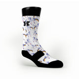 Rainbow Farting Unicorns Custom HoopSwagg Socks