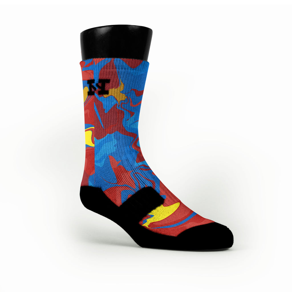 Red Rivers Custom HoopSwagg Socks