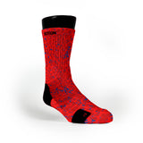 Red Space Invaders Custom Notion Socks