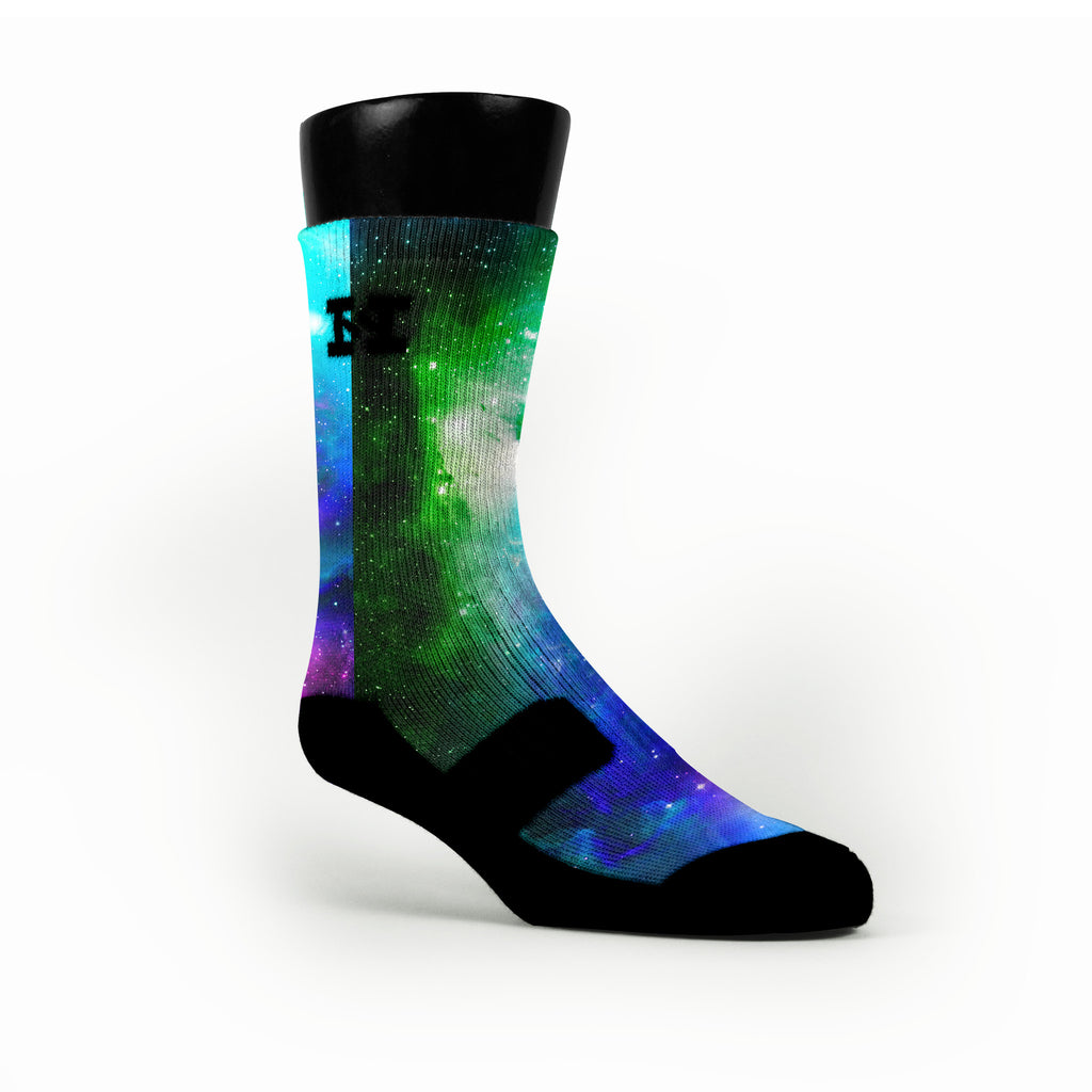 Remix Galaxy Custom HoopSwagg Socks