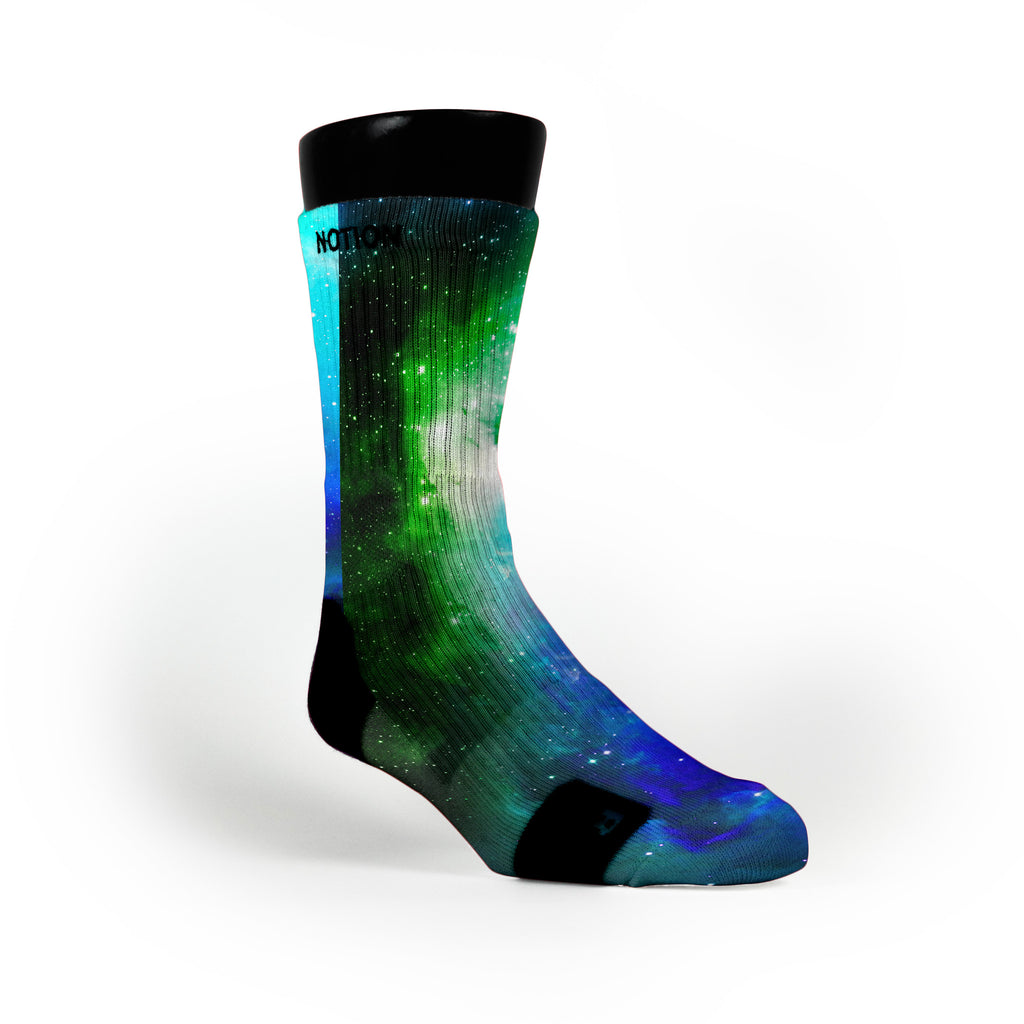 Remix Galaxy Custom Notion Socks