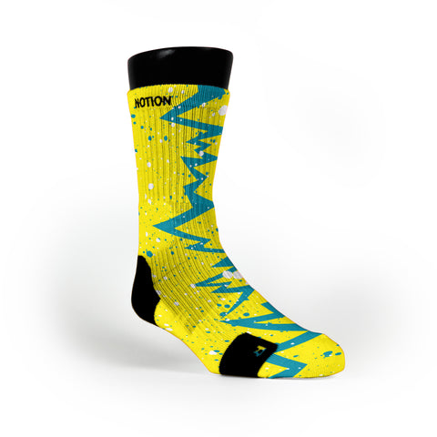 Seat Pleasant Quakes Custom Notion Socks