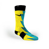 Seat Pleasant Razor Custom Nike Elite Socks