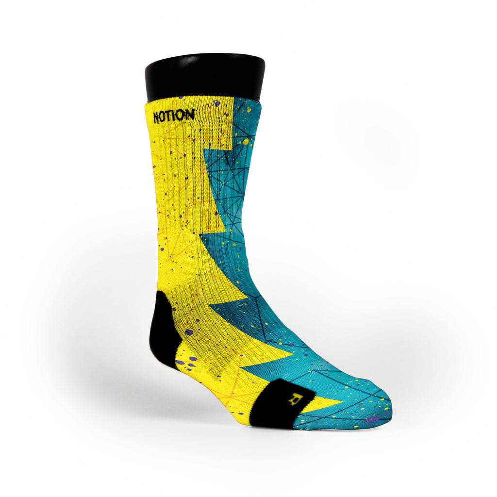 Seat Pleasant Razor Custom Notion Socks