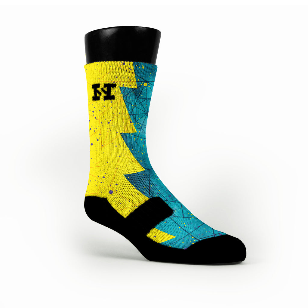 Seat Pleasant Razor Custom HoopSwagg Socks