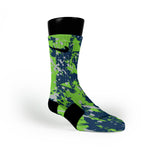 Seattle Splatter Custom Nike Elite Socks