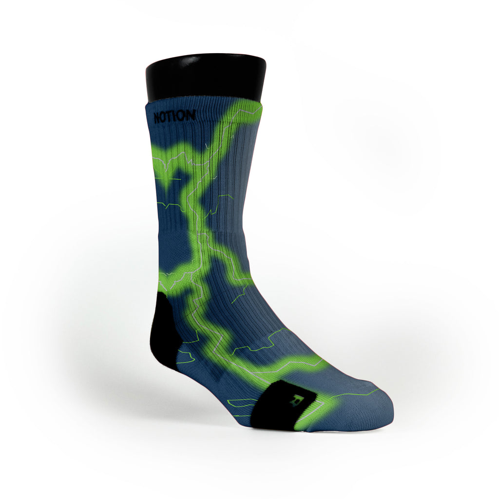 Seattle Storm Custom Notion Socks
