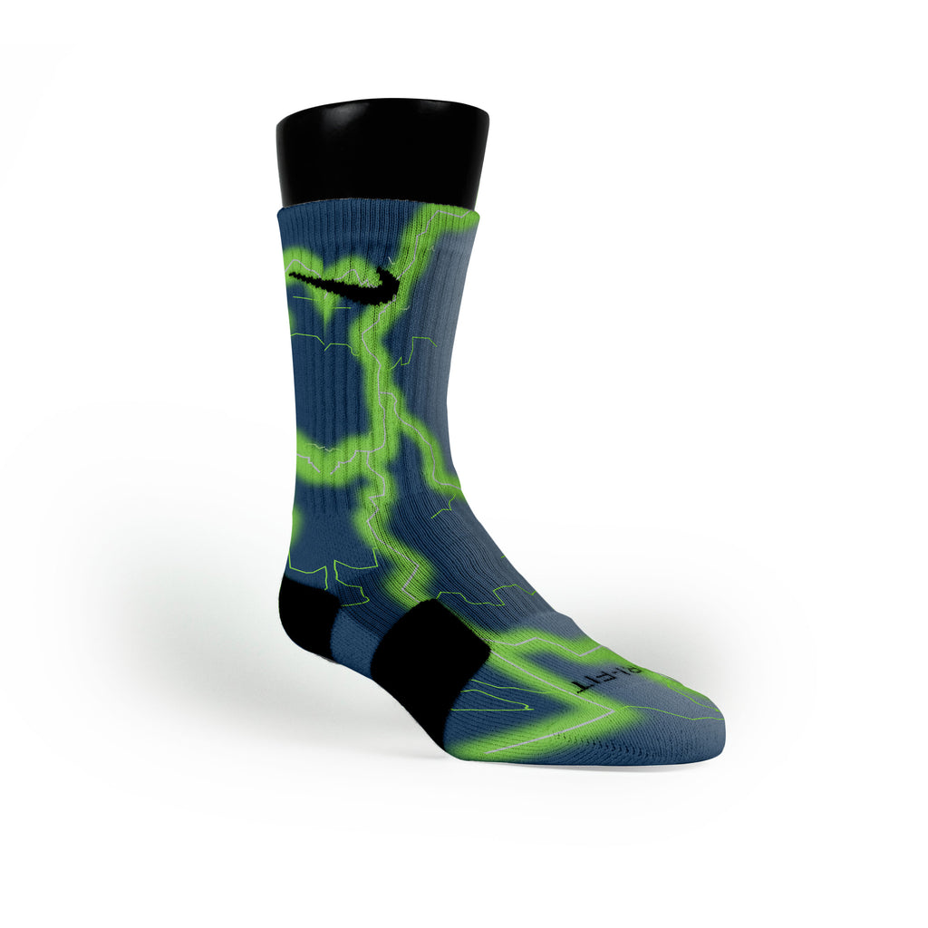 Seattle Storm Custom Nike Elite Socks