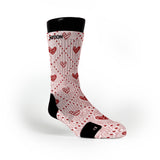 Silky Hearts Custom Notion Socks