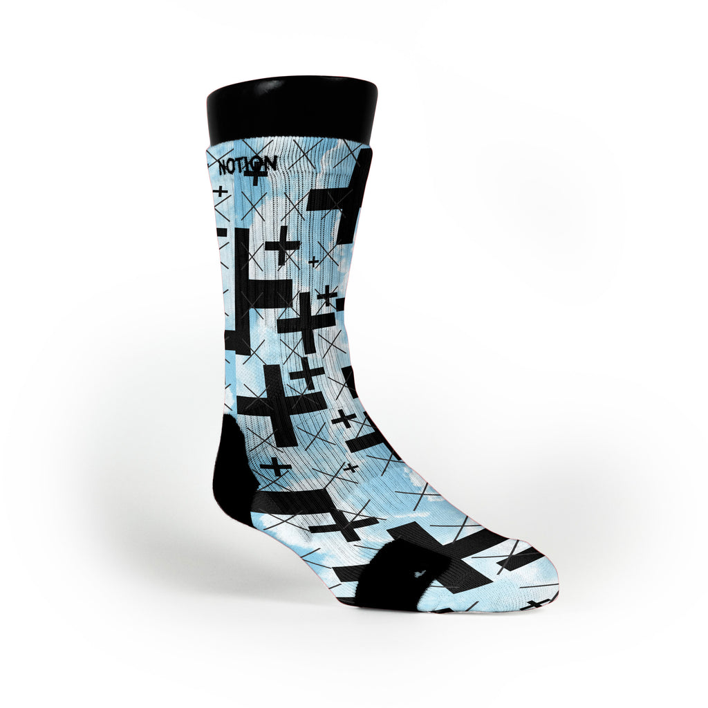 Skydive Custom Notion Socks