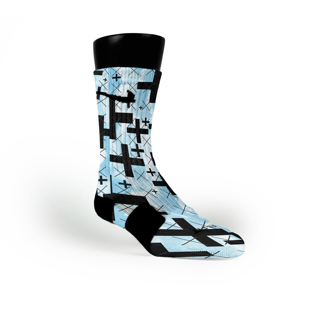 Skydive Custom Nike Elite Socks
