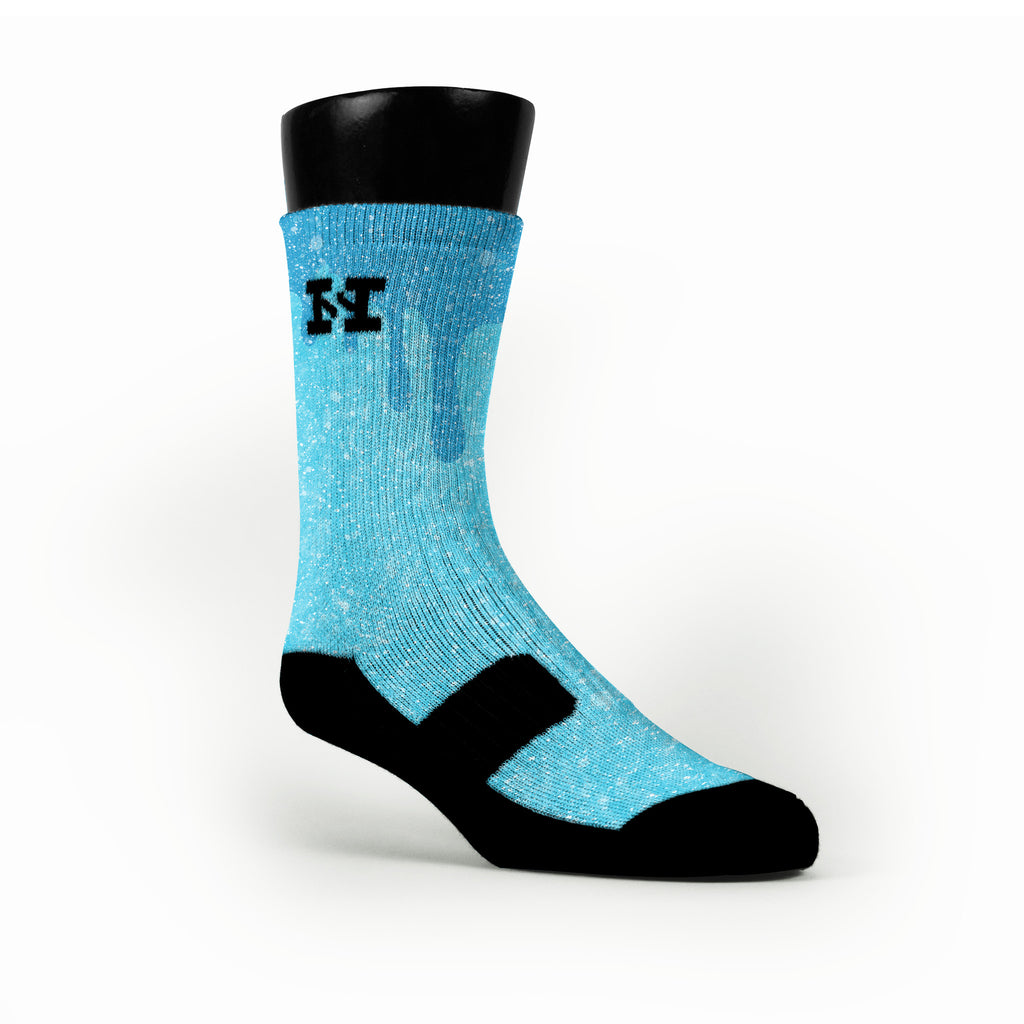 Snow Slopes Custom HoopSwagg Socks