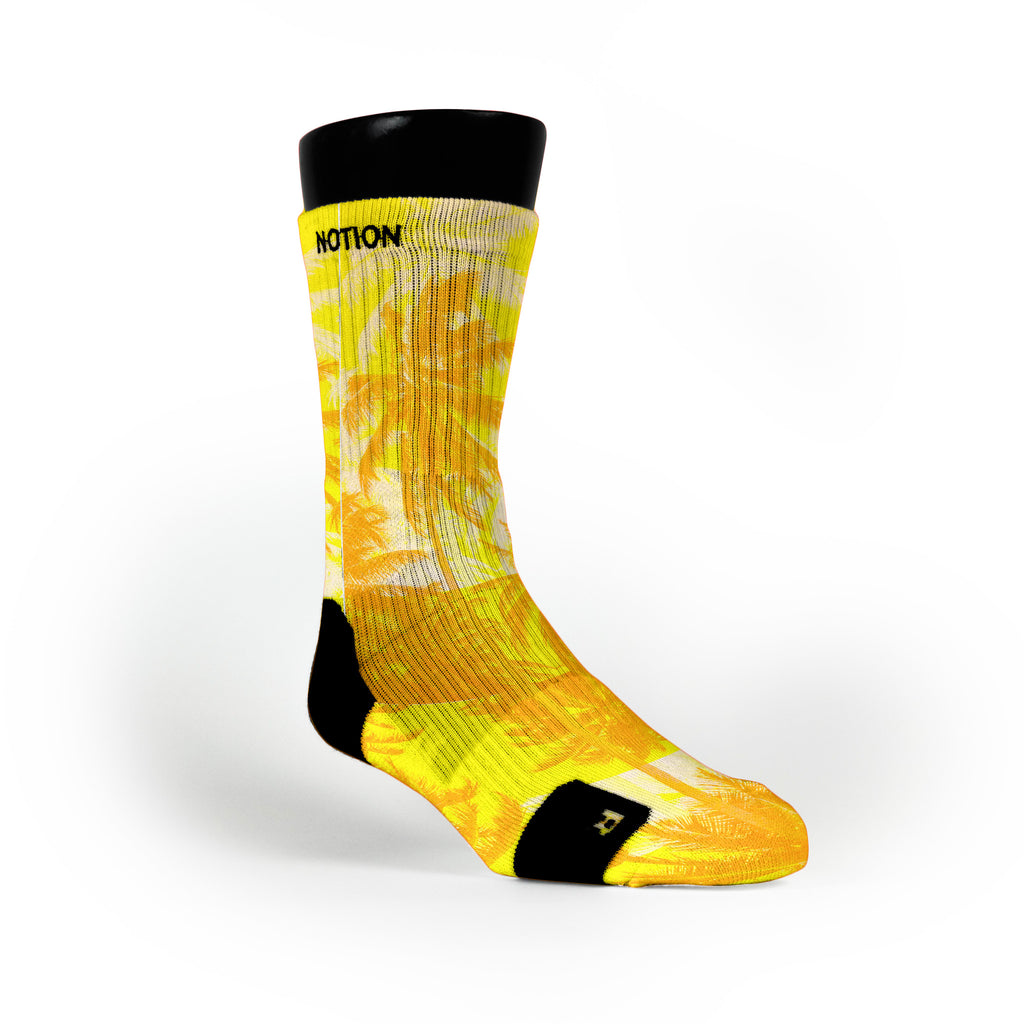 Solar Power Custom Notion Socks