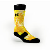Solar Power Custom HoopSwagg Socks