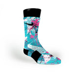 South Beach Crystals Custom Nike Elite Socks