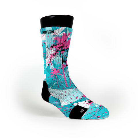 South Beach Crystals Custom Notion Socks