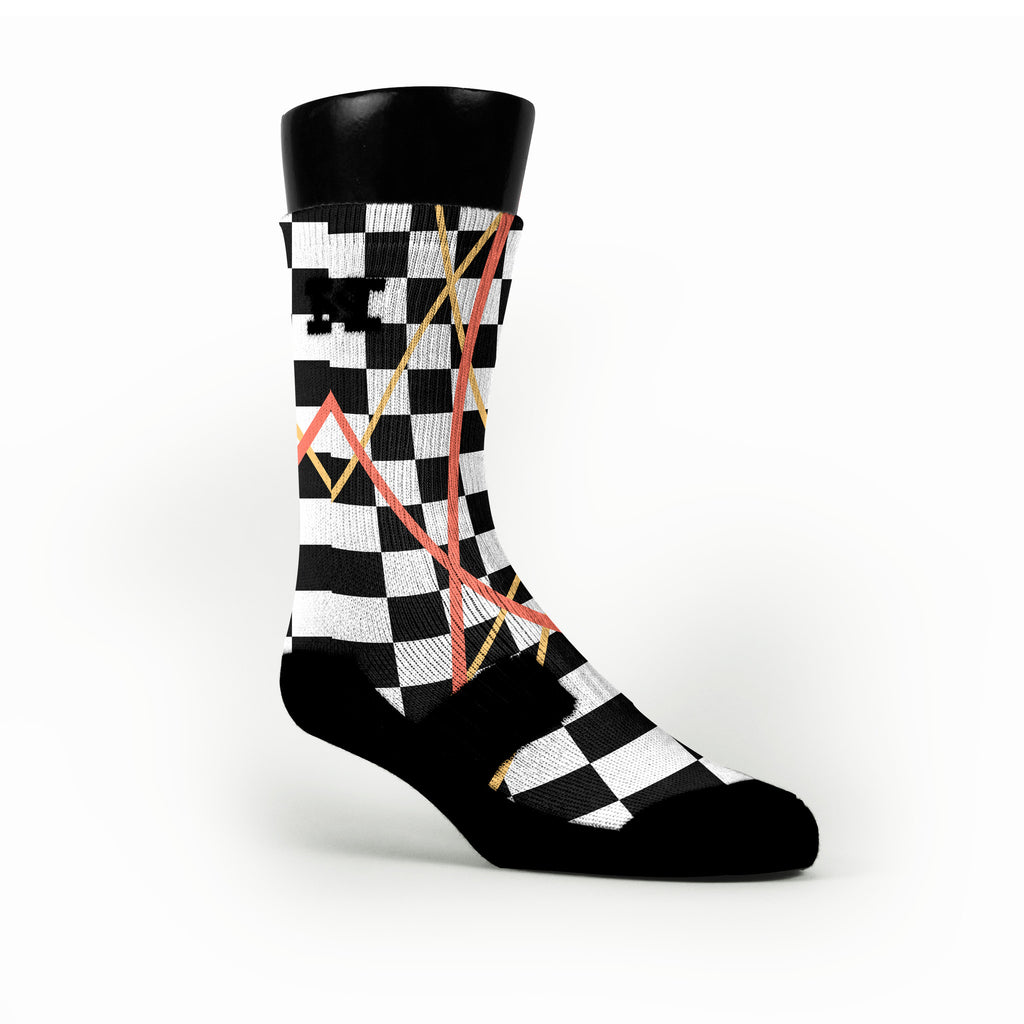 South Beach Taxi Stix Custom HoopSwagg Socks