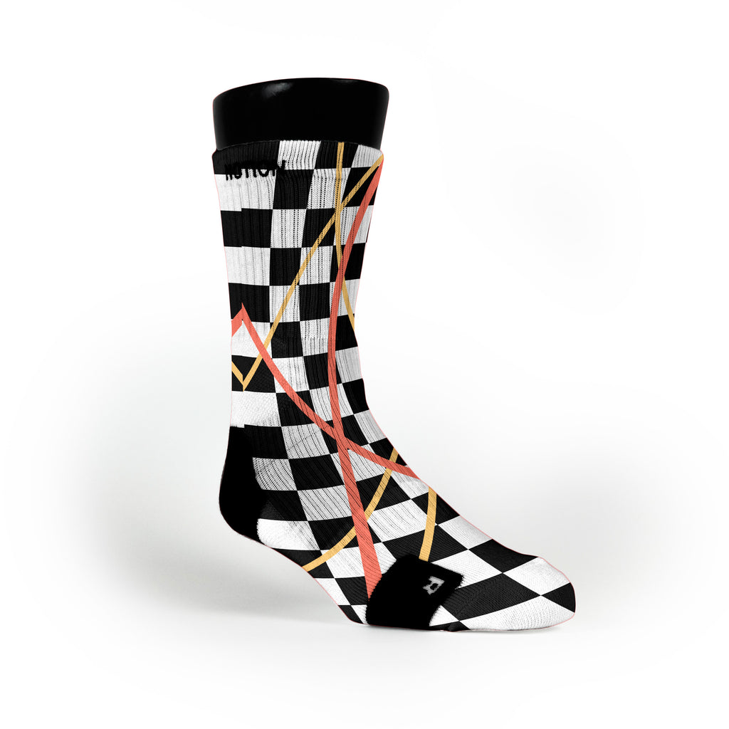 South Beach Taxi Stix Custom Notion Socks