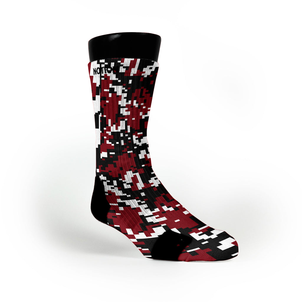 South Carolina Digital Camo Custom Notion Socks