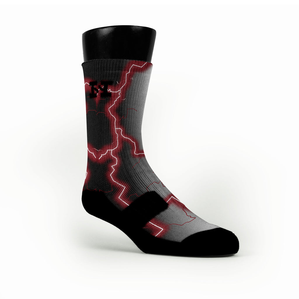 South Carolina Storm Custom HoopSwagg Socks