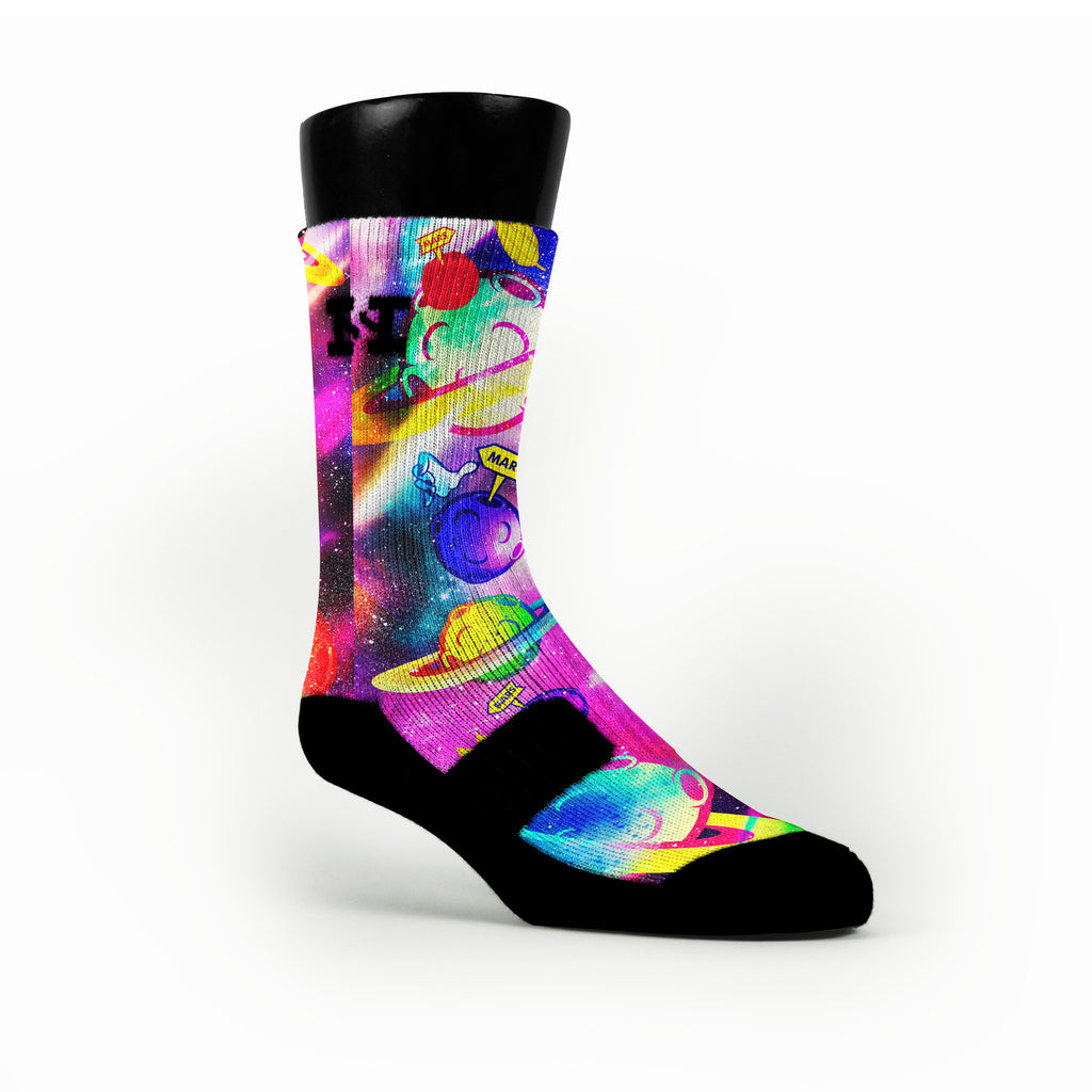 Space Jam Custom HoopSwagg Socks