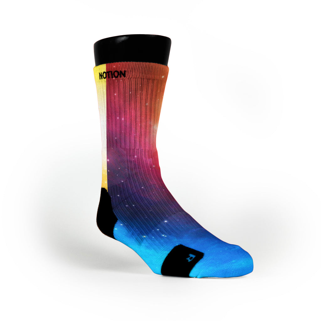 Spectrum Galaxy Custom Notion Socks