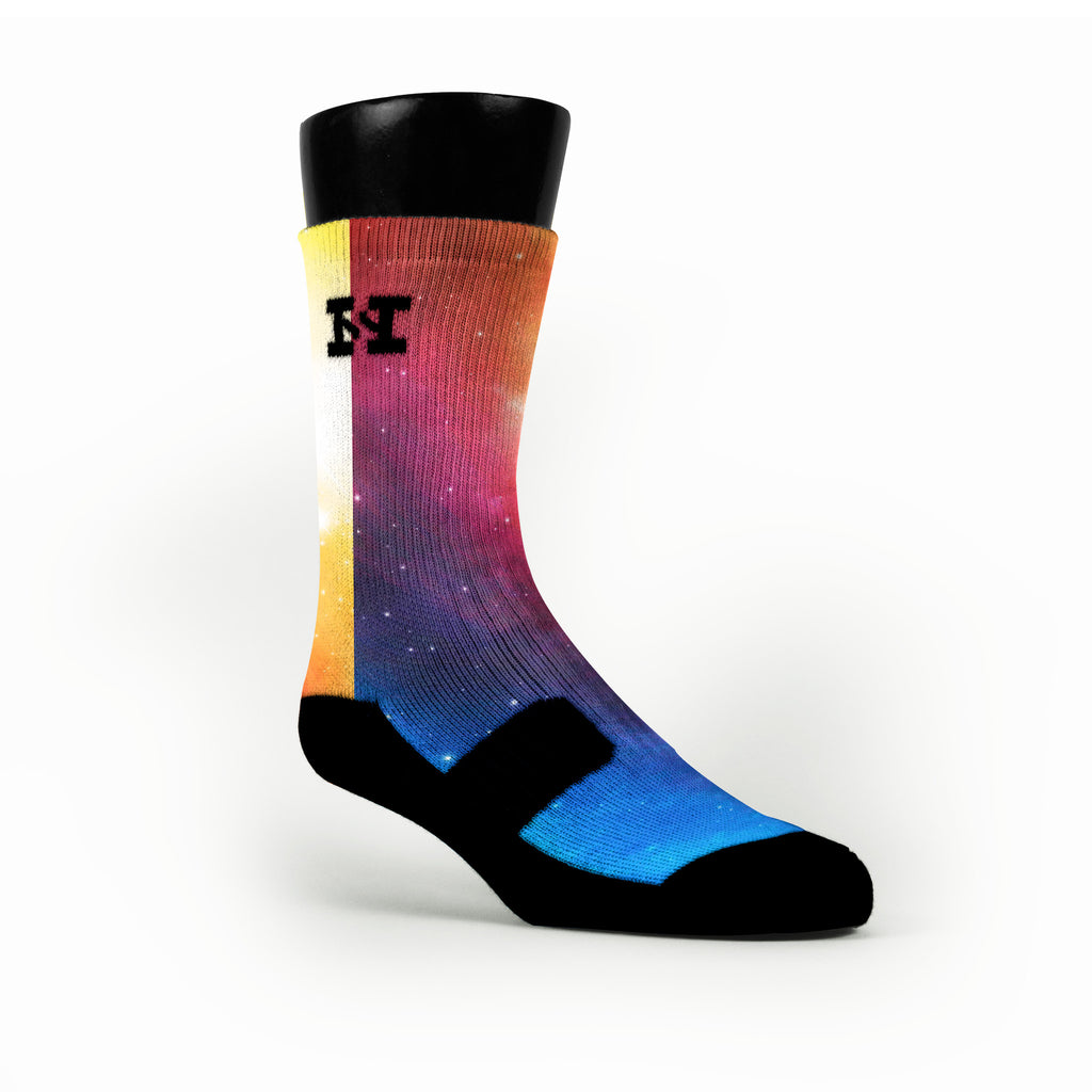 Spectrum Galaxy Custom HoopSwagg Socks