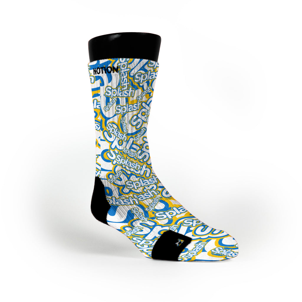 Splash Bros Custom Notion Socks