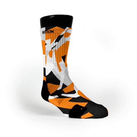 Spokane Hardwood Camo Custom Notion Socks