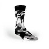 Spurs Hardwood Camo Custom Nike Elite Socks