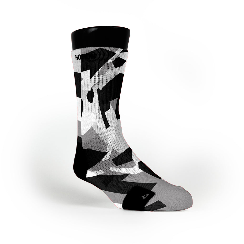 Spurs Hardwood Camo Custom Notion Socks