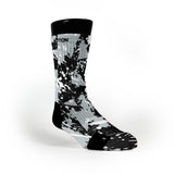 Spurs Splatter Custom Notion Socks