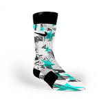 Star Paste Custom Nike Elite Socks