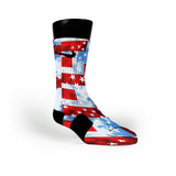 Stars And Stripes Custom Nike Elite Socks