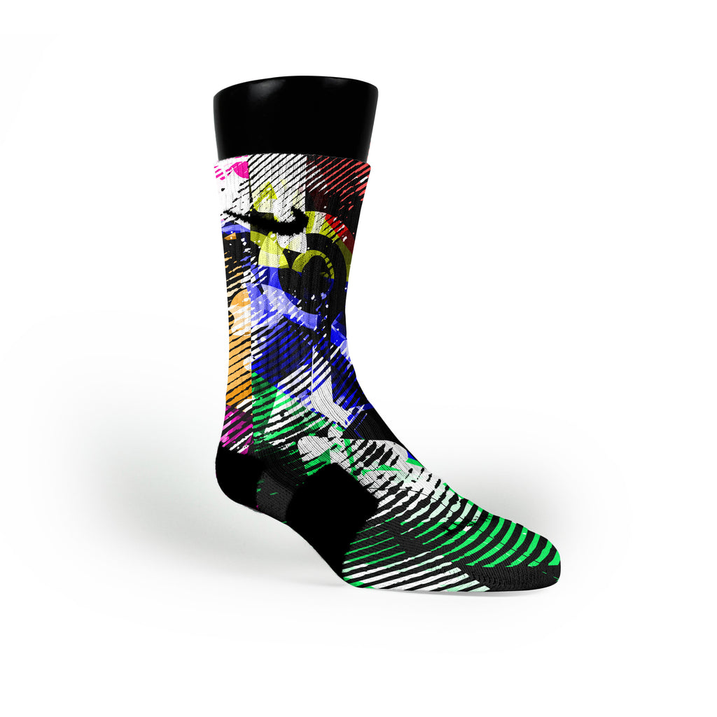 Static Radio Custom Nike Elite Socks
