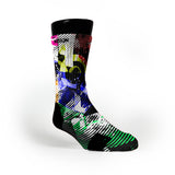 Static Radio Custom Notion Socks